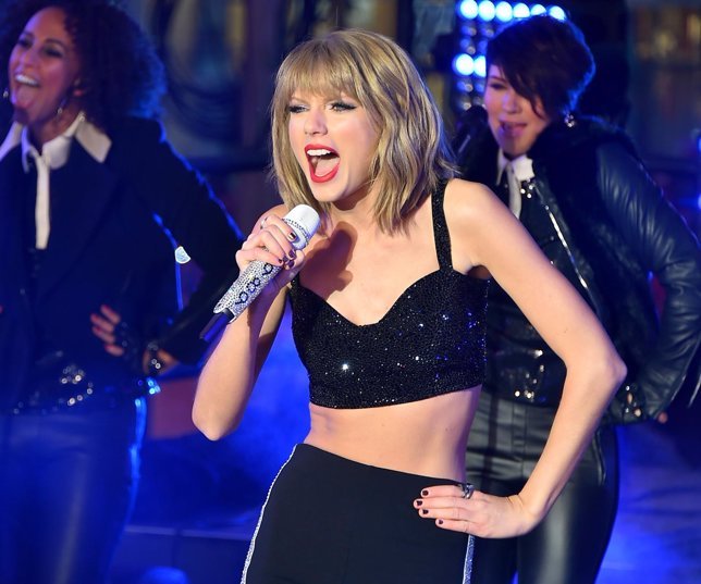 Performs at New Year Eve 2015 at Times Square on December 31, 2014 in New York