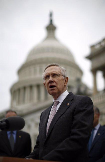 El líder demócrata en el Senado de EEUU se rompe varios huesos entrenando