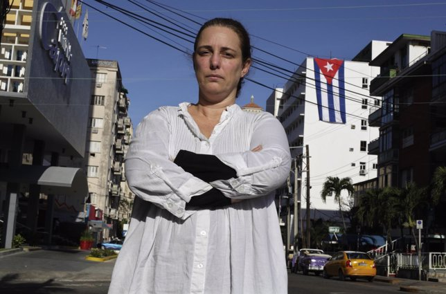 ACtivista Tani Bruguera in Habana