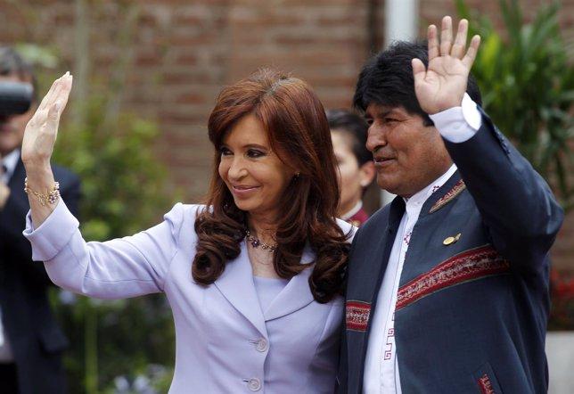 Evo Morales y Cristina Fernández de Kirchner los presidentes con mejor imagen de