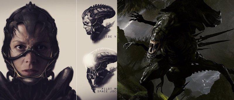 Así pudo ser el impresionante Alien de Neill Blomkamp