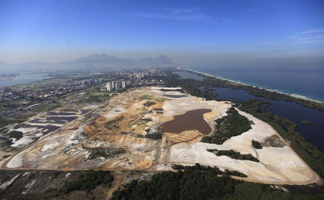 La construcción del campo de golf de Río 2016 genera polémica