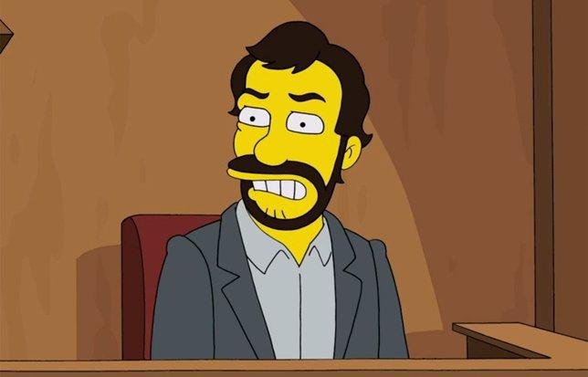Judd Apatow en Los Simpson