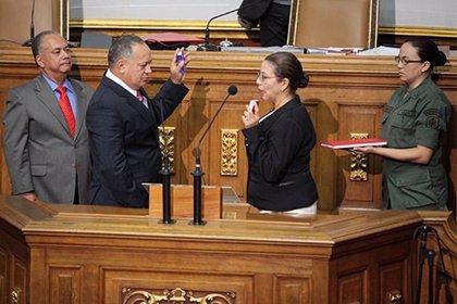 Asamblea Nacional venezolana reelige a Diosdado Cabello como presidente