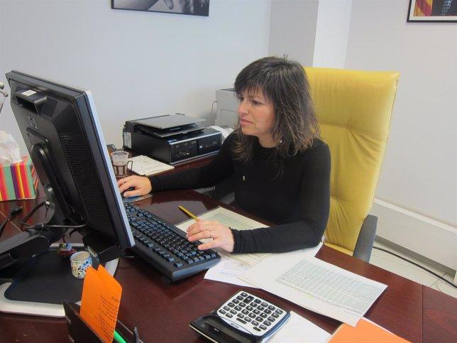 La directora del ICAA, Núria Canal