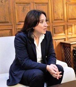 La delegada de la Junta en Granada, Sandra García
