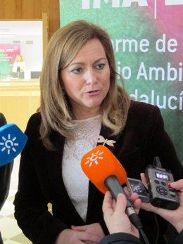 La consejera andaluza de Medio Ambiente, María Jesús Serrano