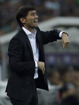 Marcelino García Toral, entrenador del Villarreal