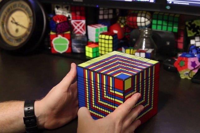 Cubo de Rubik de 17x17x17