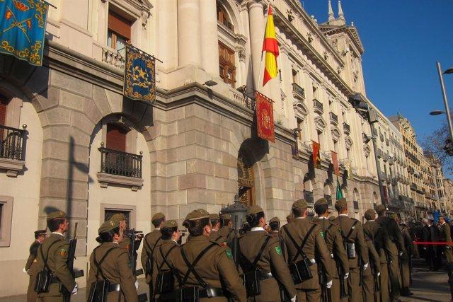 Celebración de la Pascua Militar en Barcelona