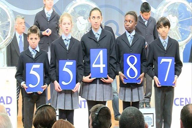 55.487, el primer premio del Sorteo de 'El Niño'