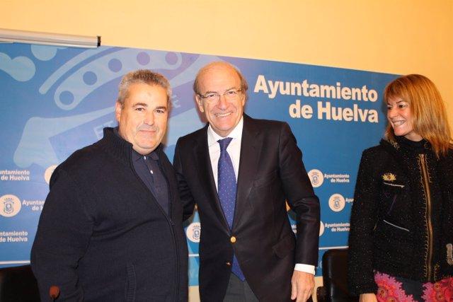 El alcalde de Huelva, Pedro Rodríguez