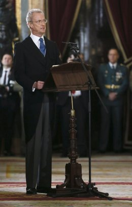 El ministro de Defensa Pedro Morenés