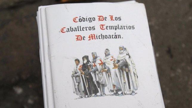 El código de conducta del cártel mexicano de los Caballeros Templarios.