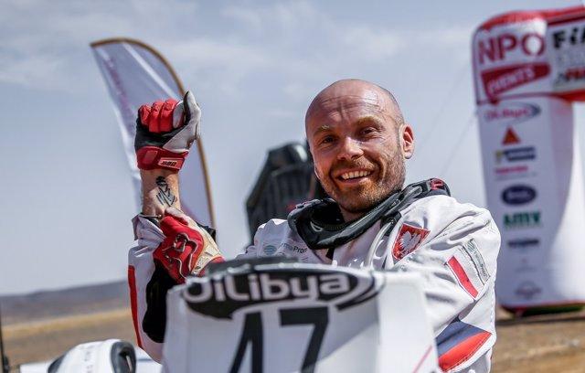 El polaco Michal Hernik, fallecido en el Dakar 2015