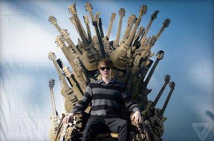 Gibson construye un Trono de Hierro con guitarras