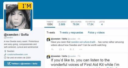 ¿Sabes cuál es la cuenta de Twitter más democrática del mundo?