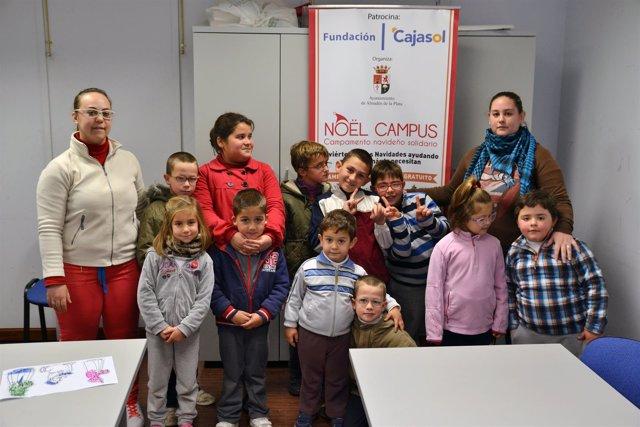 Fundación Cajasol concluye el campamento solidario en municipios sevillanos
