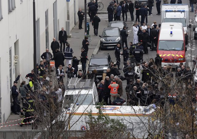 Charlie Hebdo, Atentado Terrorista