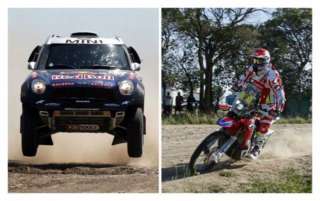 Al Attiyah y Joan Barreda tras la cuarta etapa del Dakar