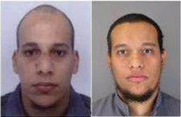 Sospechosos del atentado en Francia contra Charlie Hebdo
