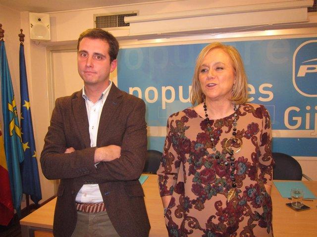 David González Medina y Mercedes Fernández