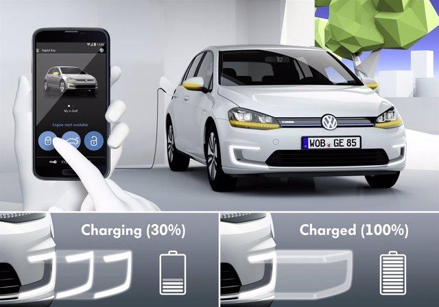 Sistema de carga por inducción de Volkswagen