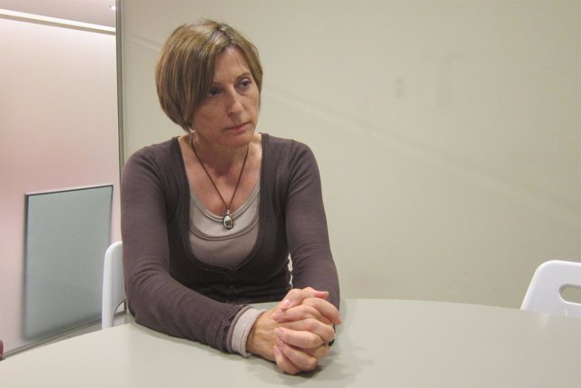 La presidenta de la ANC, Carme Forcadell.