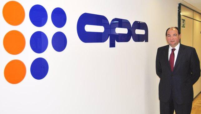 Camilo Abiétar, presidente de OPA