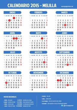 Calendario laboral de Melilla