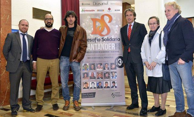 Presentación del Desafío Solidario de Santander