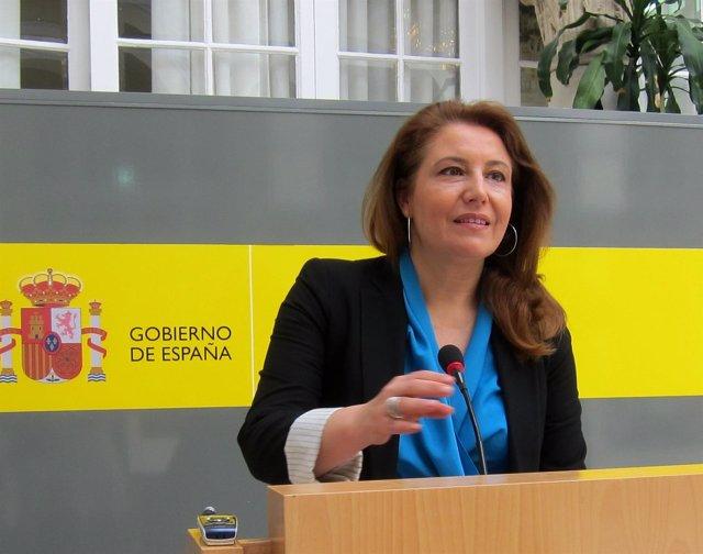 Delegada del Gobierno en Andalucía, Carmen  Crespo.