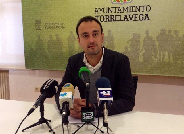 Javier López Estrada, concejal de Empleo