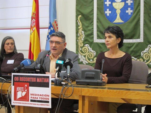 Afectados por hepatitis en el Parlamento de Galicia