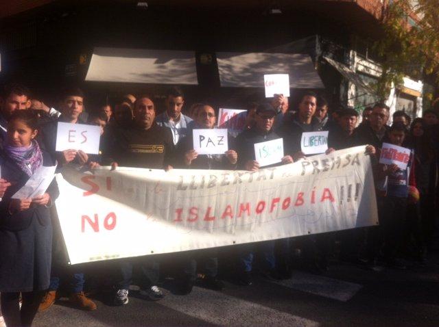 Concentración de asociaciones musulmanas en Valencia