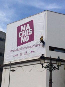 Mural de la campaña