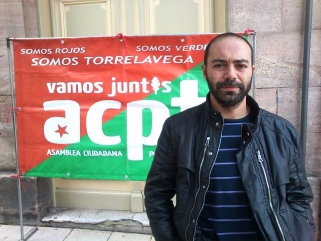 El concejal de ACPT Iván Martínez