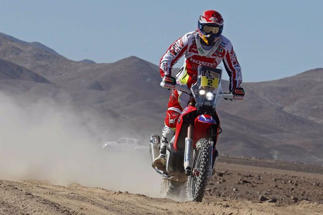 Joan Barreda Rally Dakar