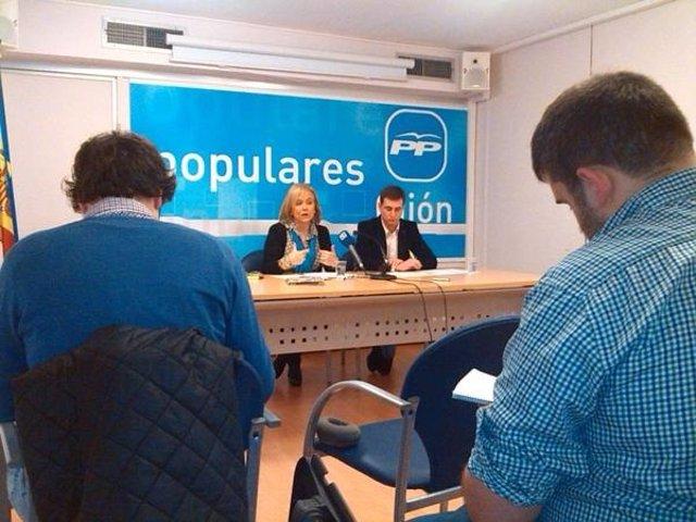 Rueda de prensa de Mercedes Fernández
