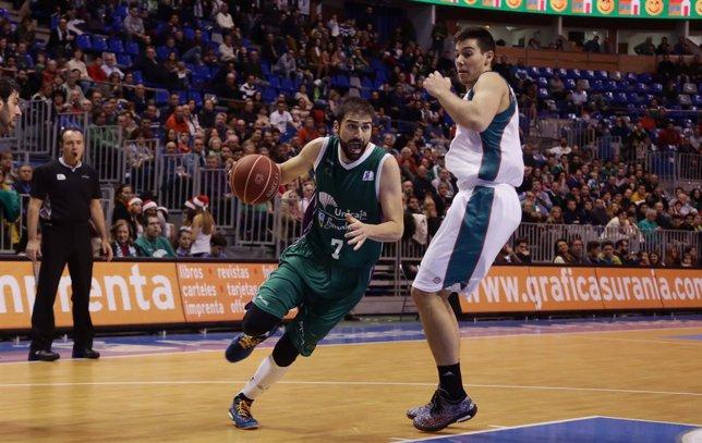 Unicaja se impone al Baloncesto Sevilla