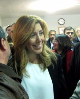 Susana Díaz, este lunes