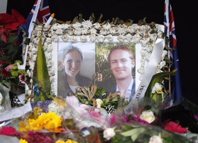 Fotografías de víctimas del secuestro de la cafetería de Sidney