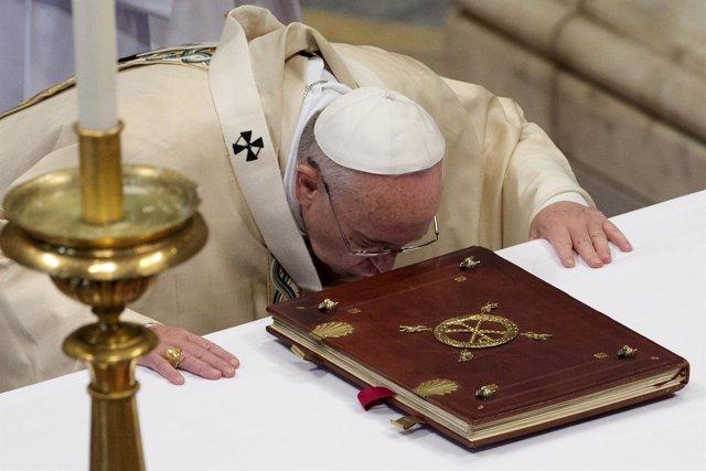 Papa Francisco en la misa del 6 de enero