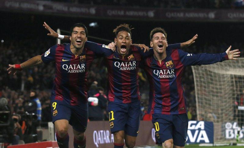 ee5248b00d5 El tridente Messi-Neymar-Suárez anula el plebiscito y al Atlético