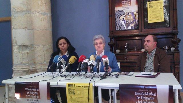 Presentación de la Jornada Mundial de las Migraciones en Burgos