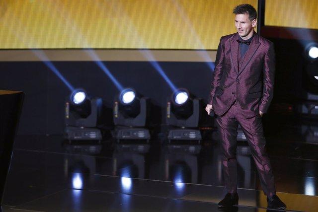 Barcelona Leo Messi FIFA Balón Oro