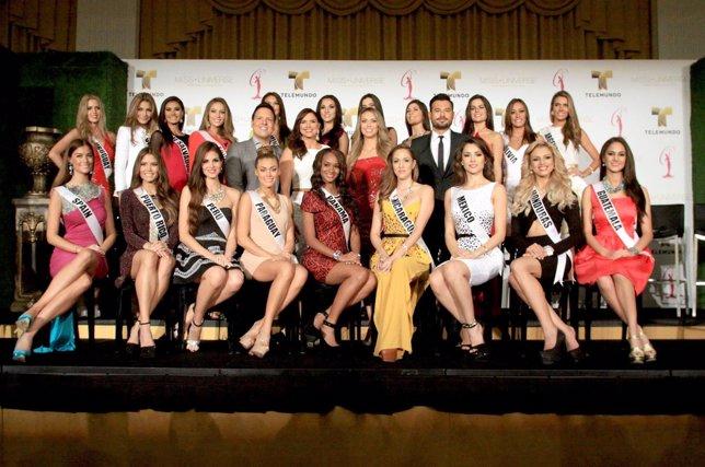 Aspirantes a Miss Universo piden reforma migratoria en EEUU