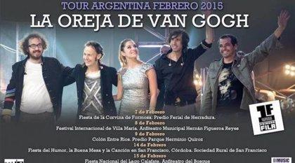 La Oreja de Van Gogh finaliza gira con cinco últimos conciertos en Argentina