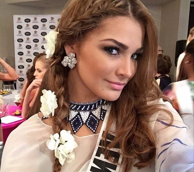 Miss Venezuela se siente presionada ante el concurso de Miss Universo