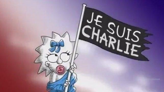 Los Simpson rinden homenaje a Charlie Hebdo